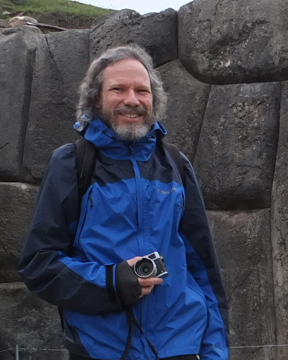 Photograph of Robert Schoch in Peru