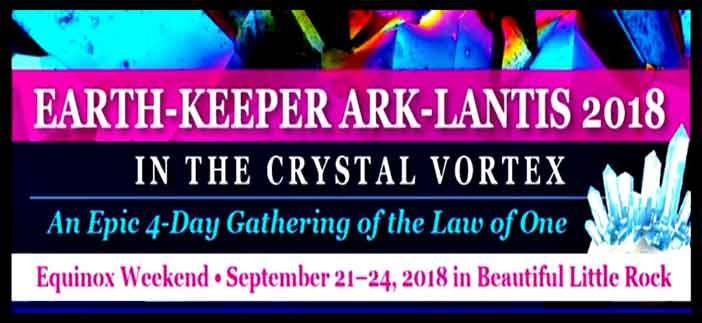 Banner for the Earth-Keeper Conference in 2018