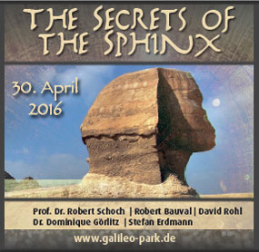 Poster for Secrets of the Sphinx Conference in Germany