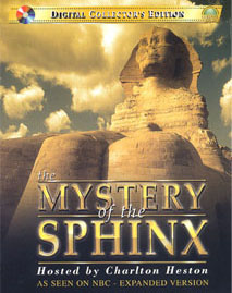 Image of the DVD cover of The Mystery of the Sphinx