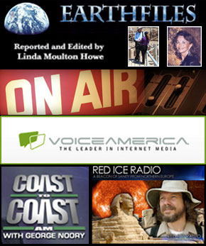 Poster for various radio programs I have been interviewed for