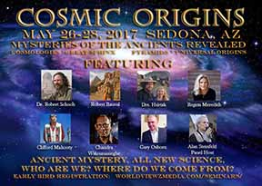 Poster for Cosmic Origins Conference in Sedona in 2017