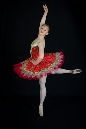 Classical dance photo of Catherine Ulissey