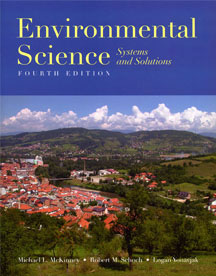 Front cover of Environmental Science Textbook