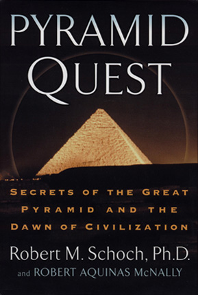 Front cover of Pyramid Quest