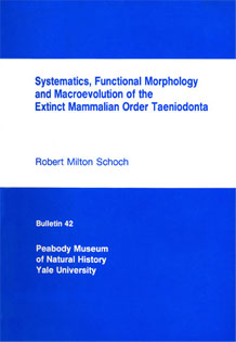 Front cover of Systematics, Functional Morphology and Macroevolution of the  							Extinct Mammalian Order Taeniodonta
