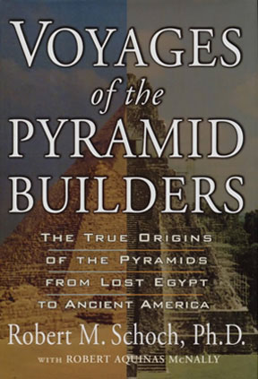 Front cover of Voyages of the Pyramid Builders