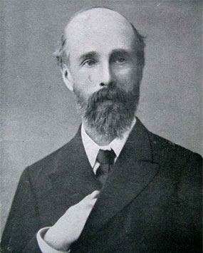 Portrait of Sir William Barrett (1844-1925)