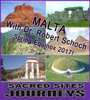 Banner for March 2017 tour of Malta with Robert Schoch