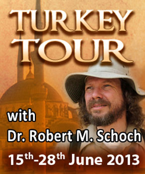 Banner for Turkey tour in 2013 with Robert Schoch
